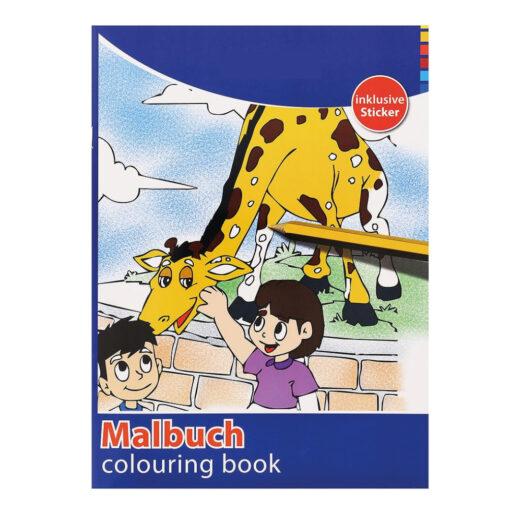 Cuaderno colorear A4 CU77159