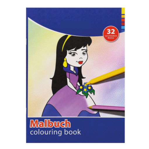 Cuaderno colorear A4 CU77159-6