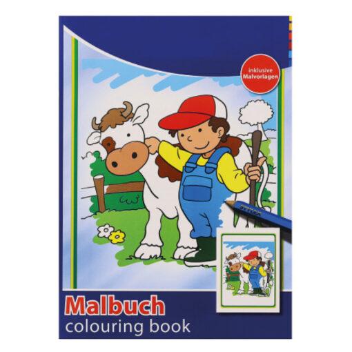 Cuaderno colorear A4 CU77159-9