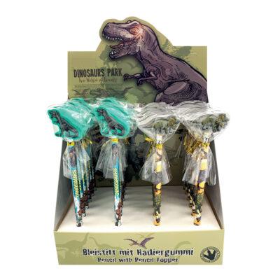 Lápices con goma Dinosaurios LA44153