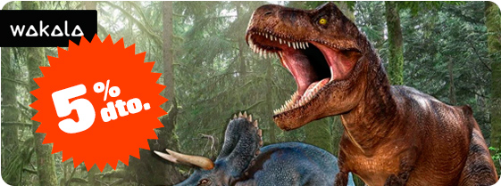 ¡Dinosaurios! …no pueden faltar en tu tienda