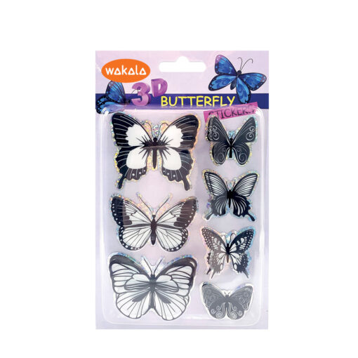 Blíster stickers mariposas 3D ET80759-1
