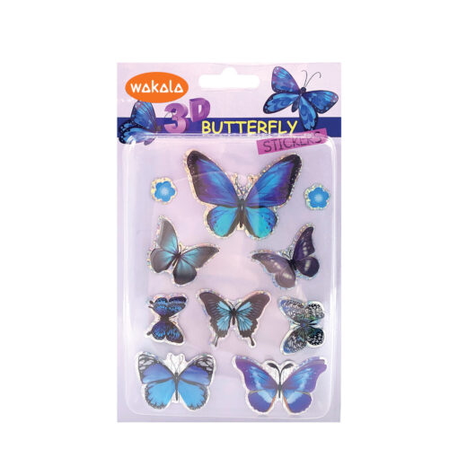 Blíster stickers mariposas 3D ET80759