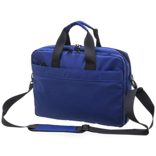 Cartera Portadocumentos Azul 2 cremalleras CA256070A-2