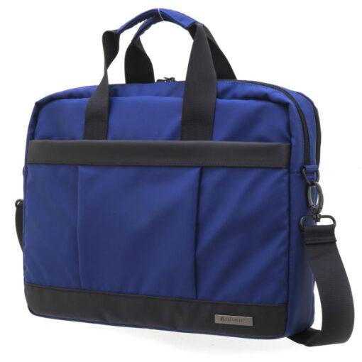 Cartera Portadocumentos Azul 2 cremalleras CA256070A
