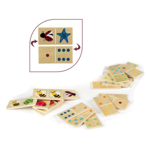 Domino madera Animales DO42147-1