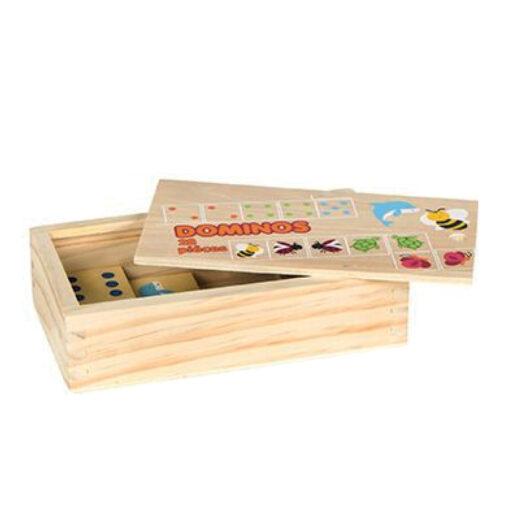 Domino madera Animales DO42147