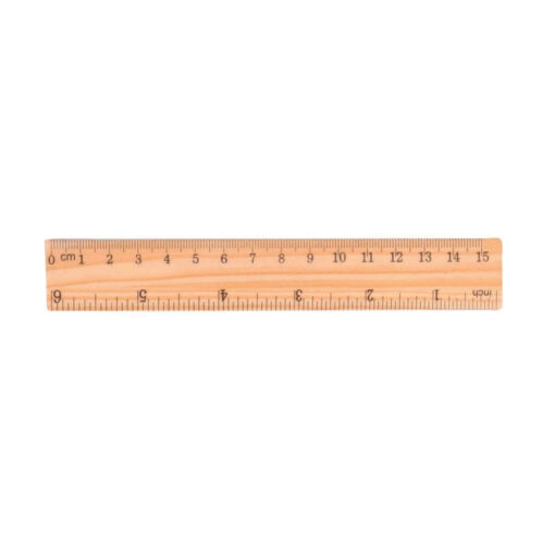 Regla madera 15 cm RE80941