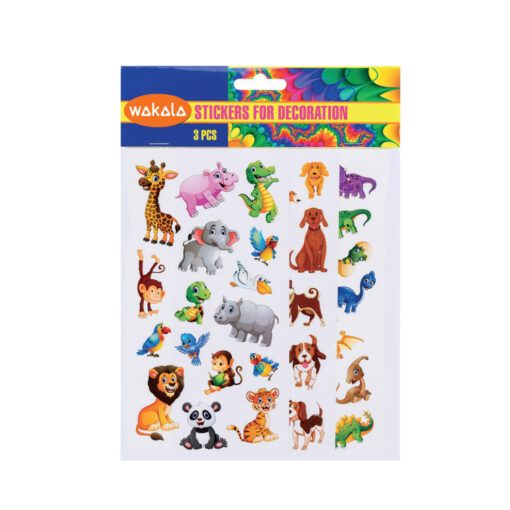 Blister Stickers 3 hojas ET80731