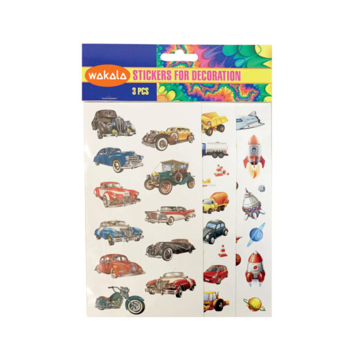 Blister Stickers 3 hojas ET80734