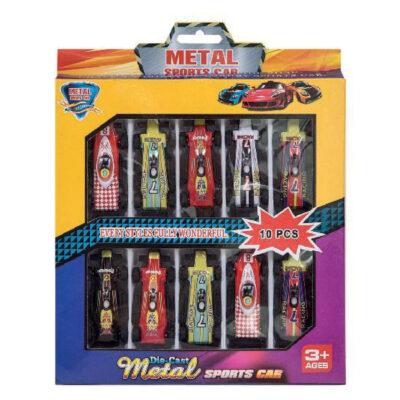 Caja coches carrera JU825