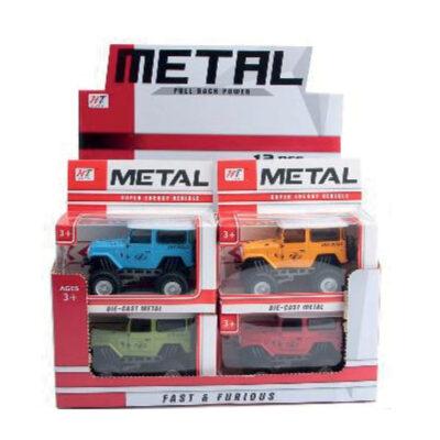 Coches metal retro JU8158