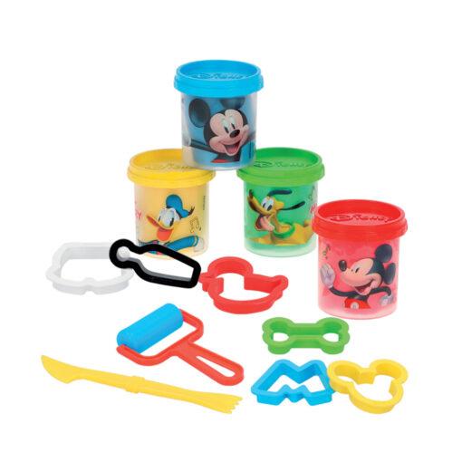 Cubo plastilina Mickey PL77182-1