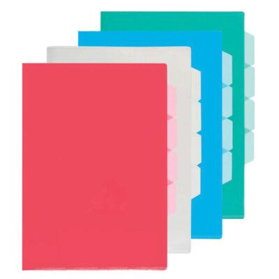 Dossier plastico A4 DO80022