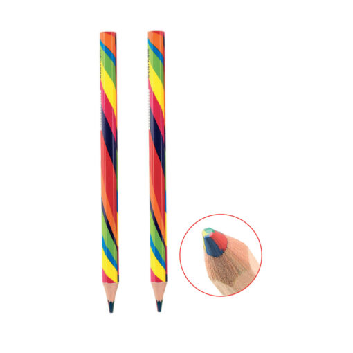 Lápiz punta 4 colores LA80328-1