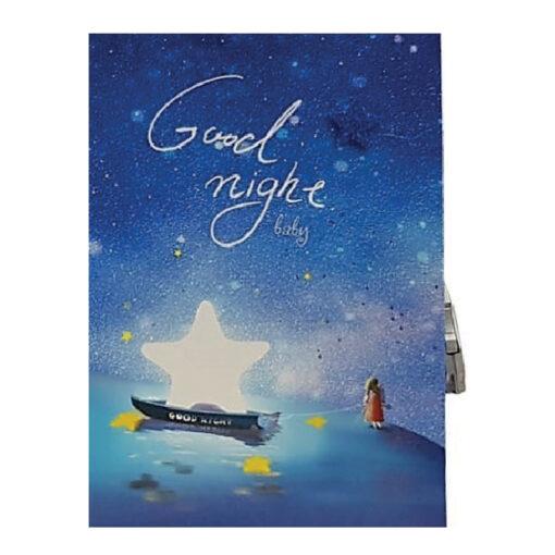 Diario con candado Good night DI4523-3