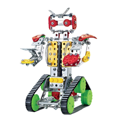 Set construcciones metal Robot JU49034-1