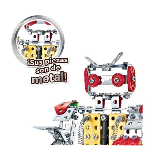 Set construcciones metal Robot JU49034-2