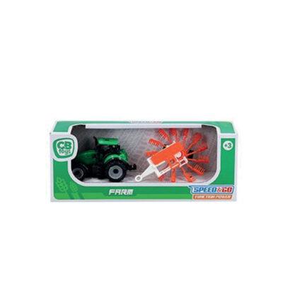 Tracotr con remolque JU37603