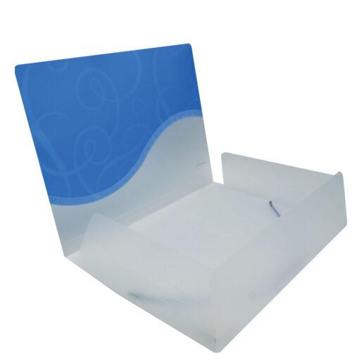 Carpeta plastico con gomas CA83626-3