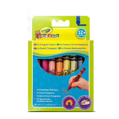 Crayons triangulares CE016