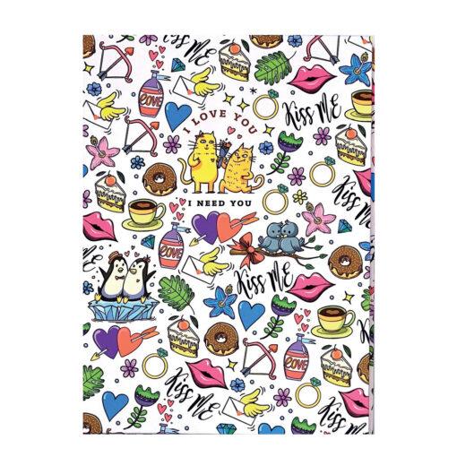 Cuaderno estampado A5 CU532-2