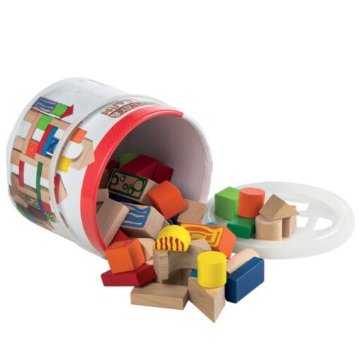 Cubo bloques madera JU40994-2