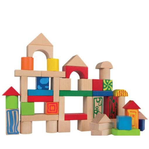 Cubo bloques madera JU40994-3