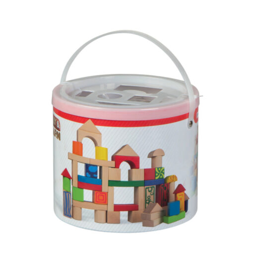 Cubo bloques madera JU40994