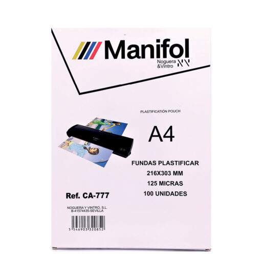 Fundas plastificar A4 CA777
