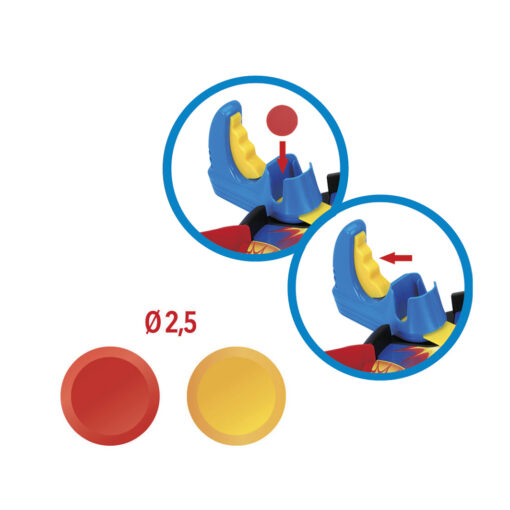 Juego lanza discos JU46580-2