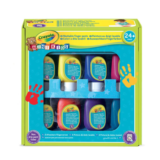 Set botes pintura de dedos PI7958