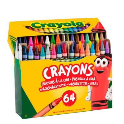 Caja 64 Crayons CE64