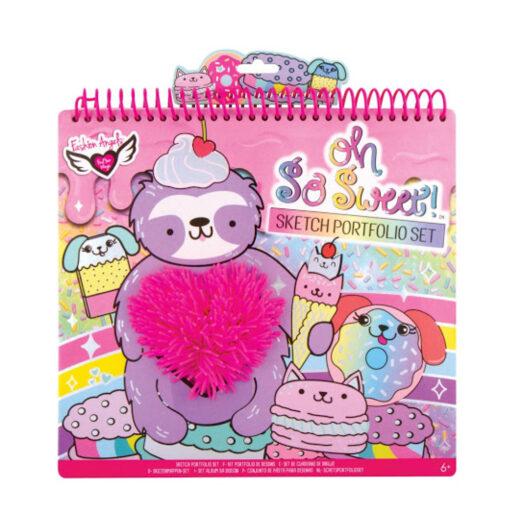 Cuaderno colorear con stickers CU12322