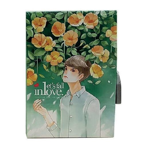 Diario candado Let's fall in love DI4524-2