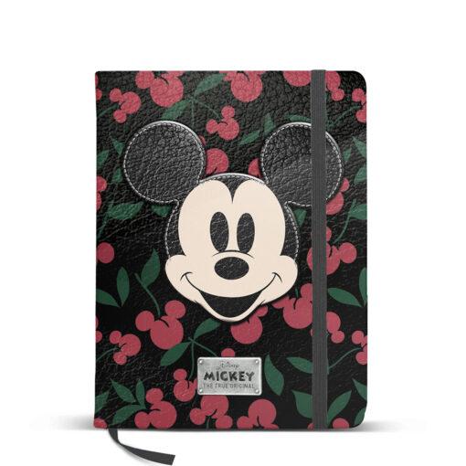 Fashion Mickey Cherry Cuaderno A5 CU1810