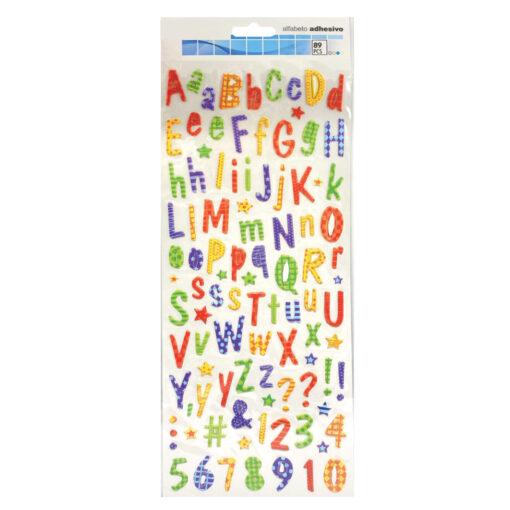 Blister etiquetas adhesivas alfabeto ET73366-1