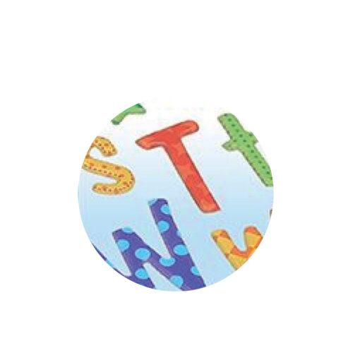 Blister etiquetas adhesivas alfabeto ET73366-2