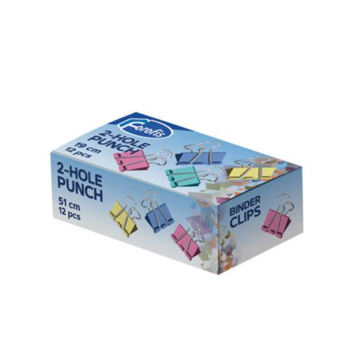 Caja 12 Pinzas abatibles PI91371