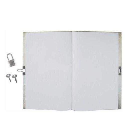 Diario estampado candado DI49935-3