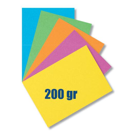 Paquete 40 hojas cartulina PA46485-1
