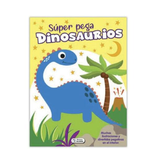 Cuaderno Super pega dinosaurios CU125-1