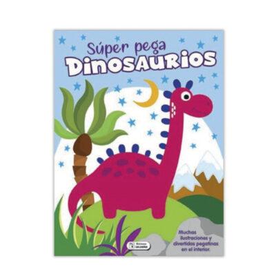 Cuaderno Super pega dinosaurios CU125