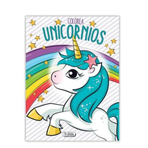 Cuadernos colorea Unicornios CU140-1