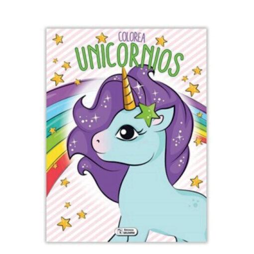 Cuadernos colorea Unicornios CU140-2
