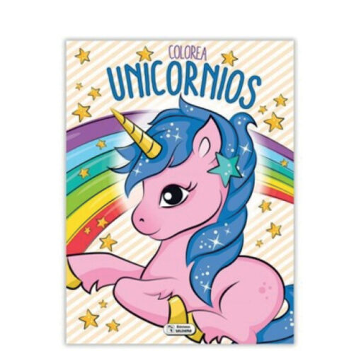 Cuadernos colorea Unicornios CU140-3