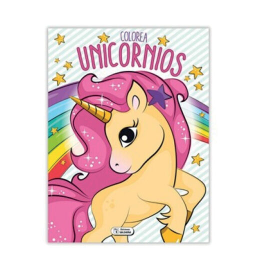 Cuadernos colorea Unicornios CU140