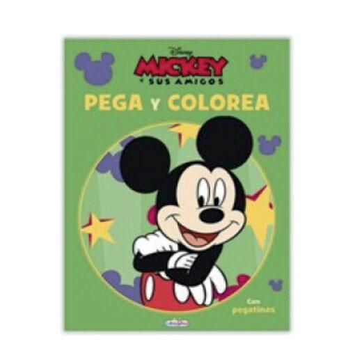 Cuadernos pega y colorea Disney CU809-1