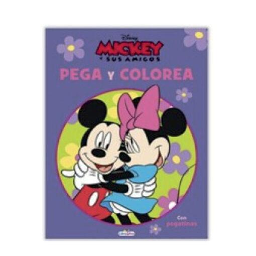 Cuadernos pega y colorea Disney CU809-4