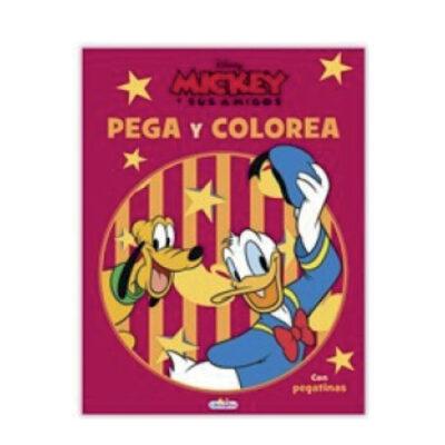 Cuadernos pega y colorea Disney CU809